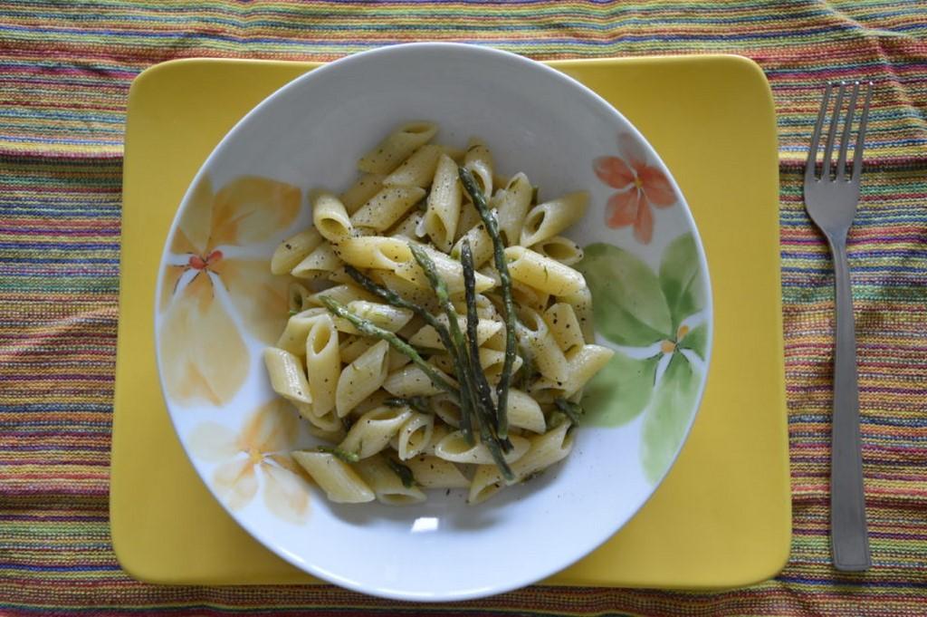 pasta con asparagi selvatici