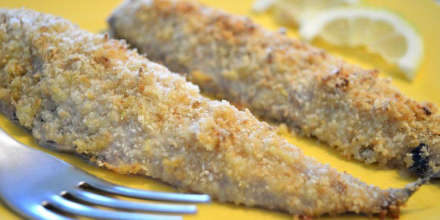 filetti di sgombro gratinati al limone