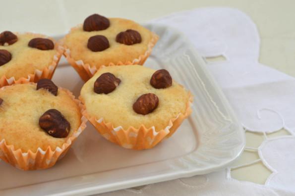muffin ricotta e nocciole