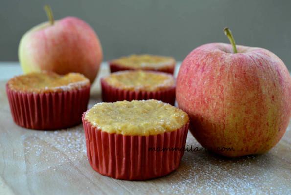 tortini mela e cannella