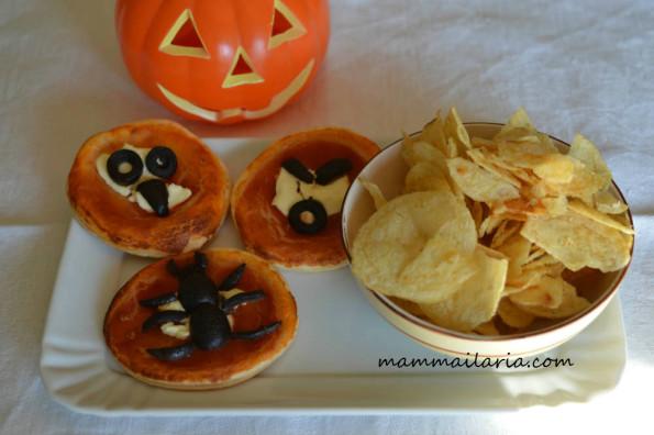 pizzette di halloween