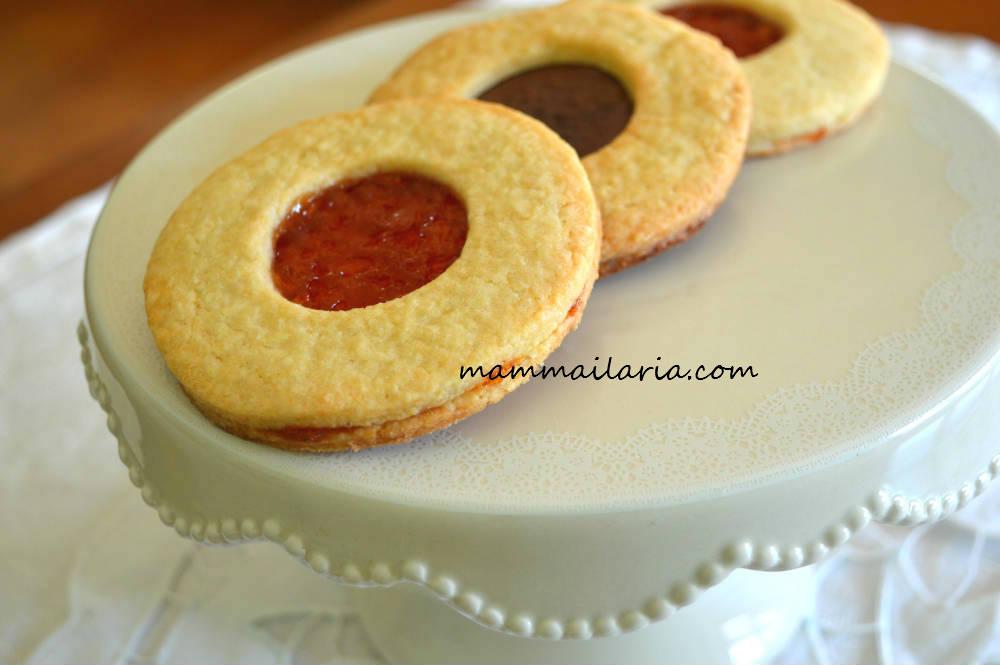 Biscotti Occhio Di Bue Ilaria Zizza