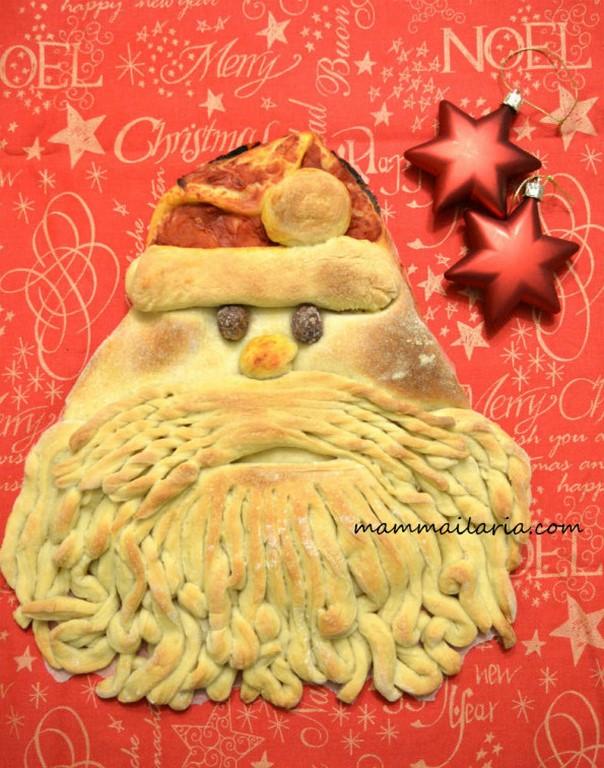 pizza Babbo Natale