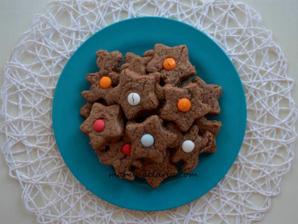 biscotti cioccolato e Smarties