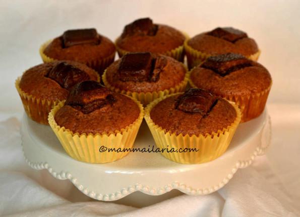 muffin con Kinder Bueno