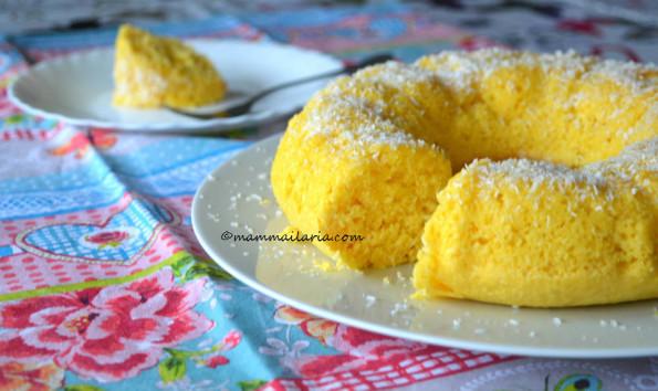 ciambella cocco e limone