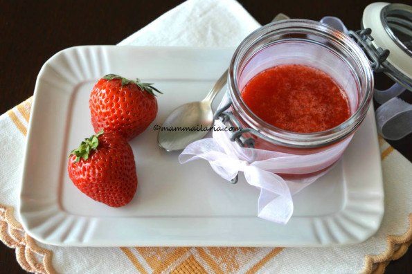 coulis di fragole