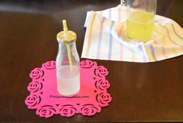 sciroppo di limone - limonata