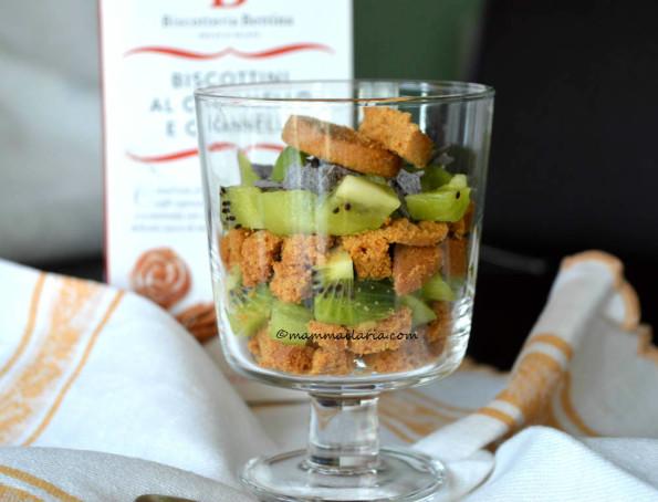 kiwi al bicchiere