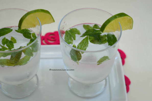 bevanda menta e lime