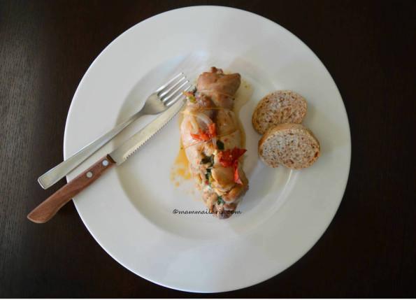 cosciotti di pollo ripieni