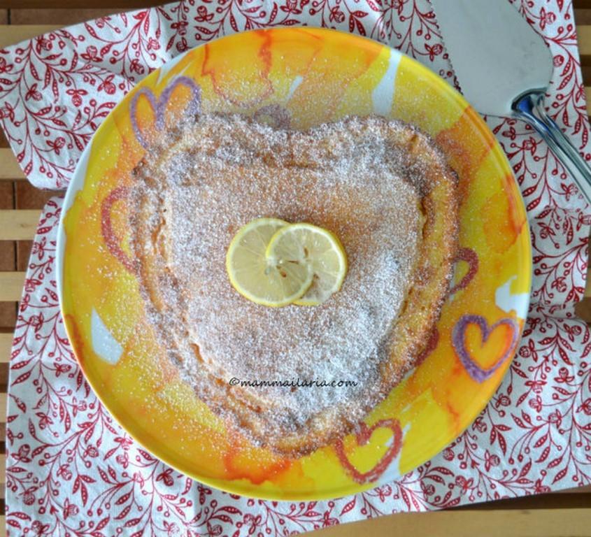 torta yogurt e limone