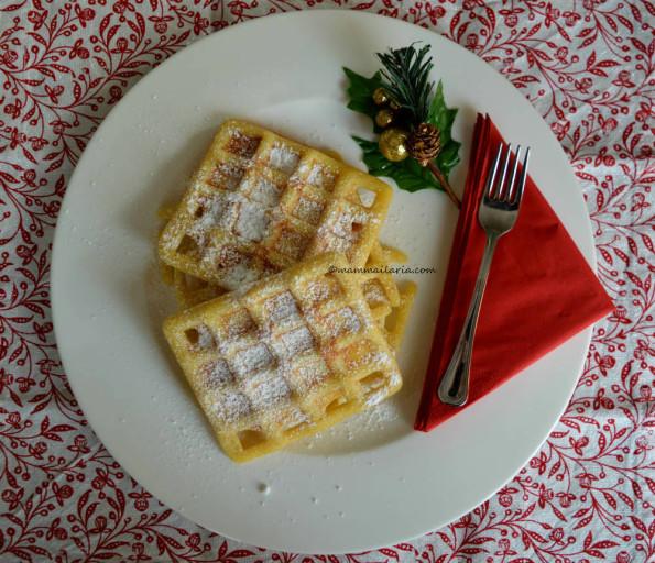waffle girgerbread