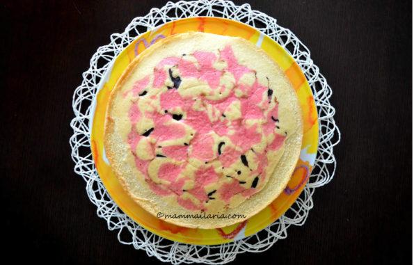 torta mascherata per carnevale