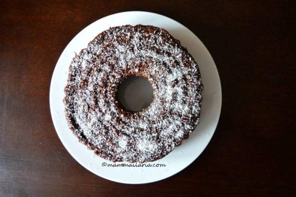ciambellone sette vasetti al cacao