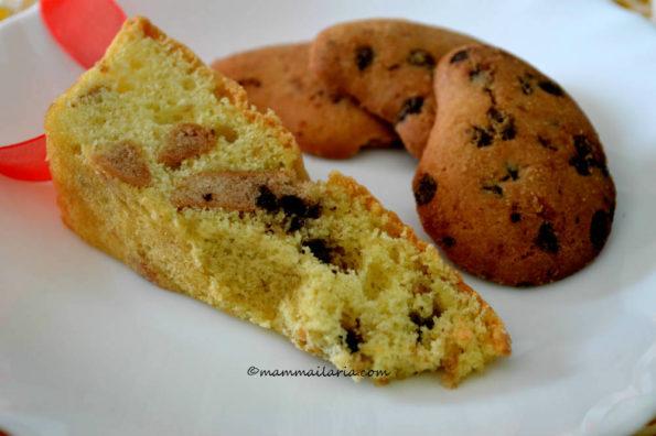 torta con i biscotti
