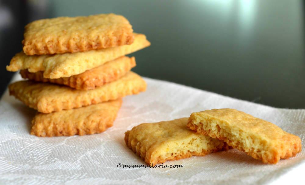 biscotti inzupposi senza burro