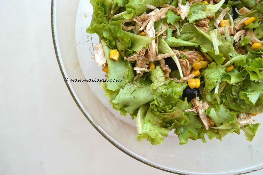 l'insalata di pollo light