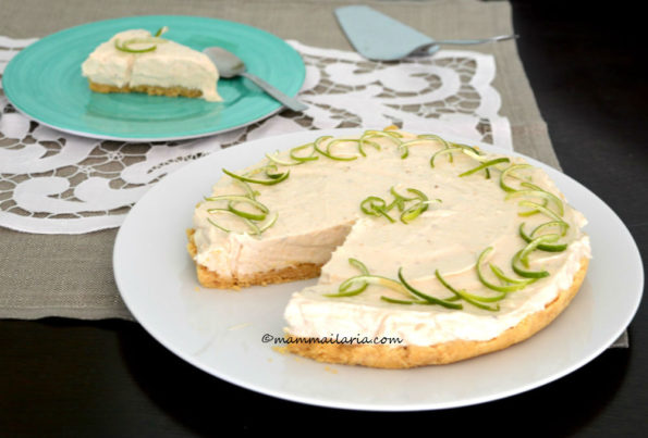 cheesecake banana e lime