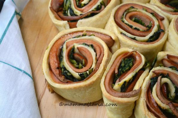 torta di rose salata