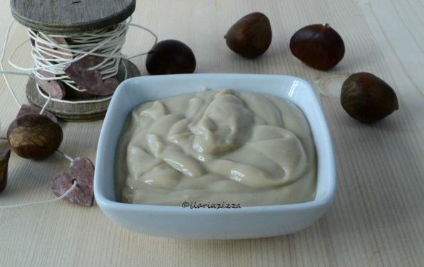 Crema pasticcera alle castagne