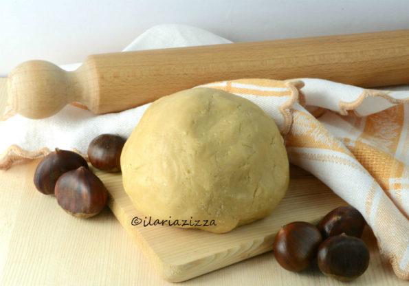 pasta frolla con farina di castagne