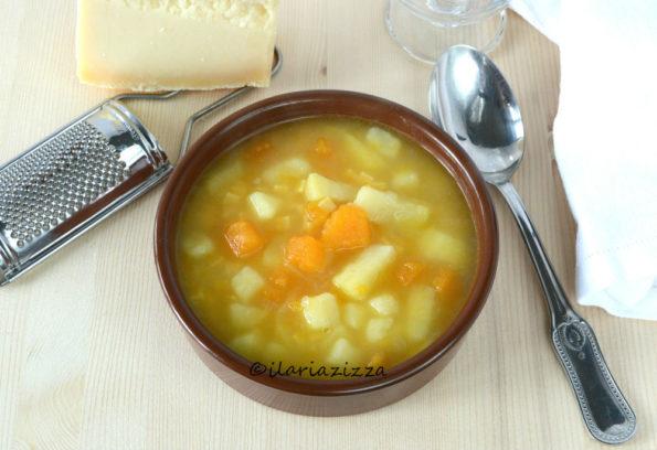 minestra di zucca e patate