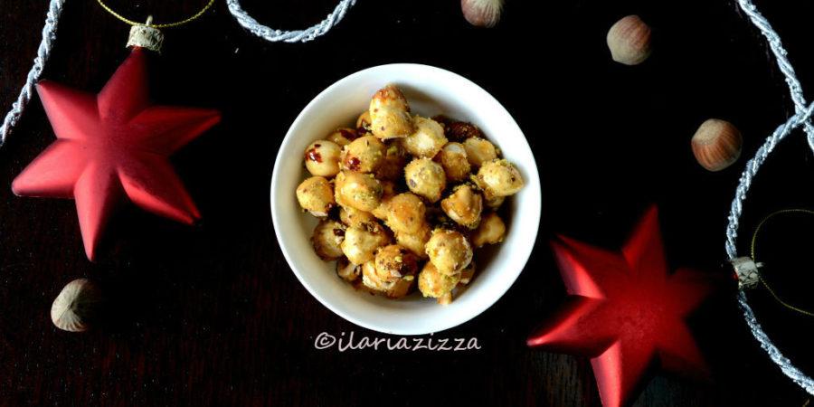 Nocciole al miele e pistacchi