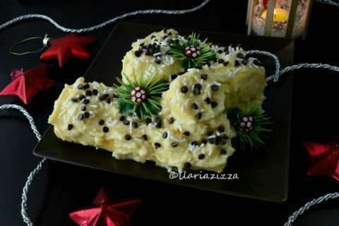 tronchetto di Natale al limone