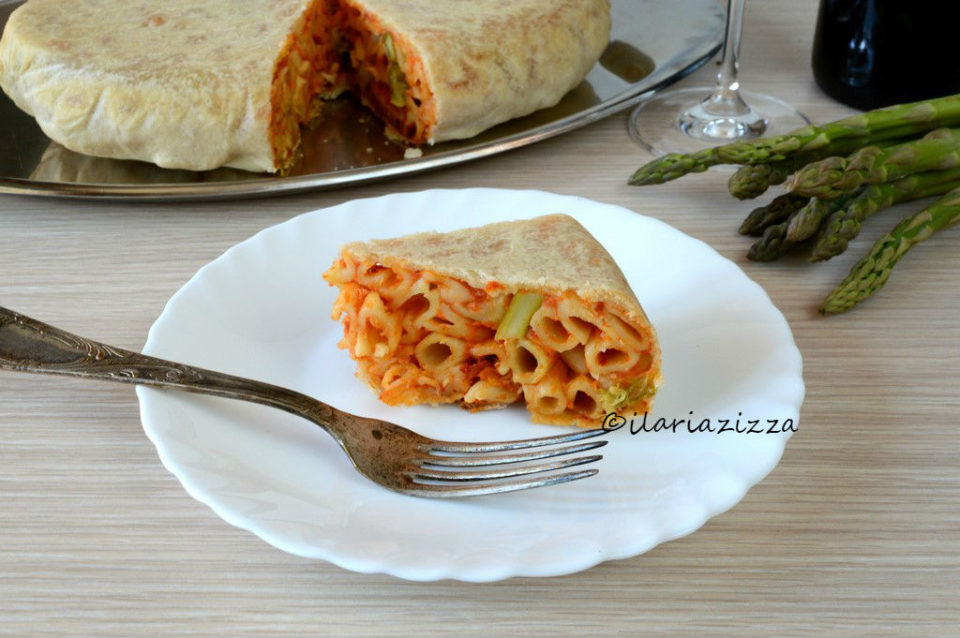 Timballo di pasta in crosta