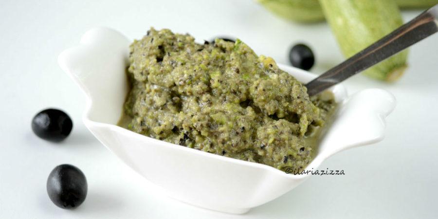 Crema di zucchine e olive
