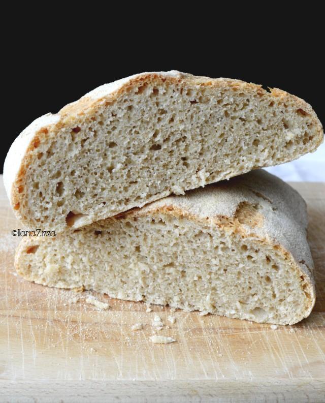 Pane con farine poco raffinate