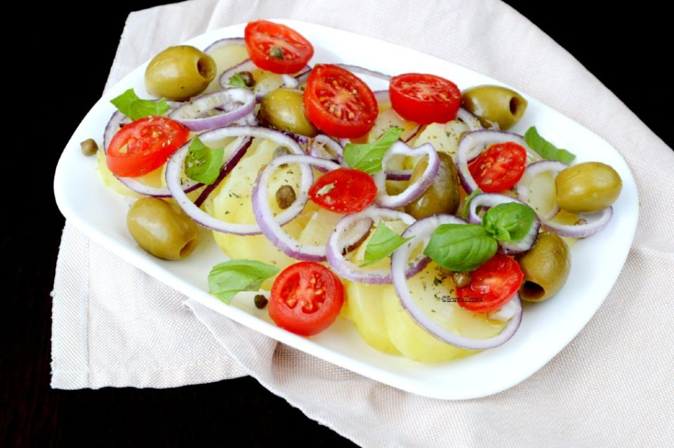 Insalata di patate pantesca