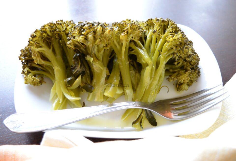 Broccoli al vapore