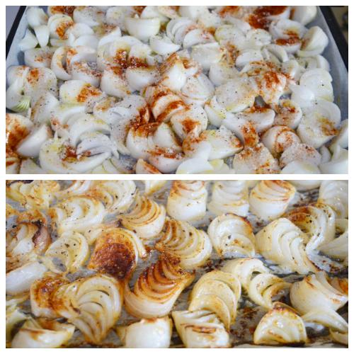 Cipolla piatta al forno